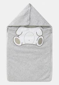 Jacky Baby - WELCOME UNISEX - Baby's sleeping bag - hellgrau melange - 0