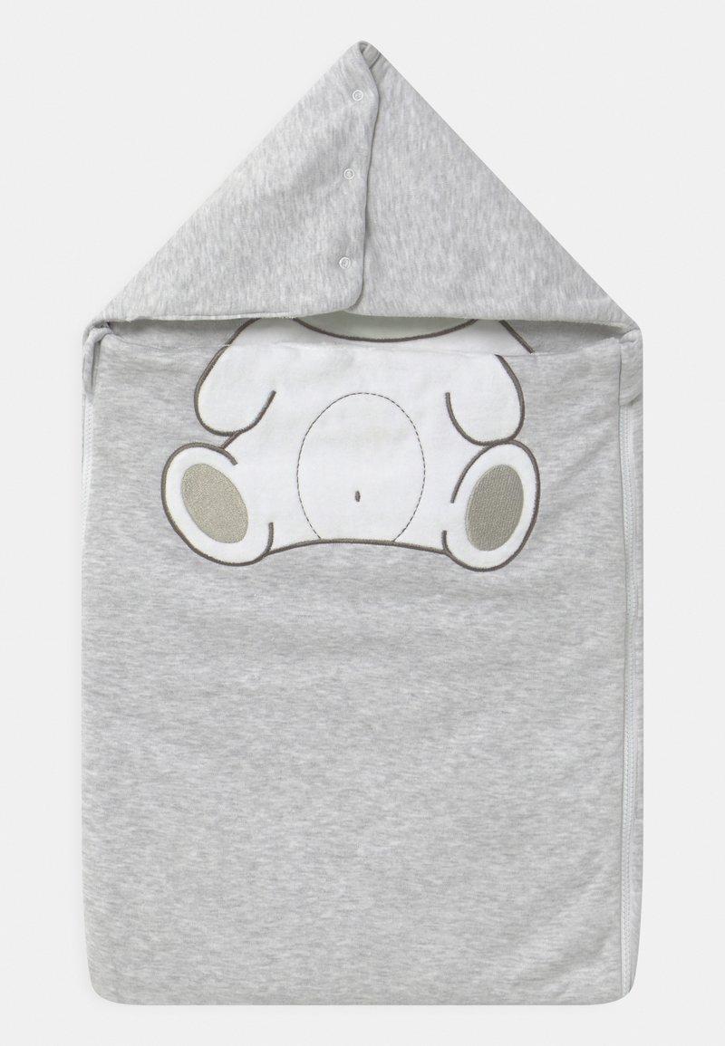 Jacky Baby - WELCOME UNISEX - Baby's sleeping bag - hellgrau melange