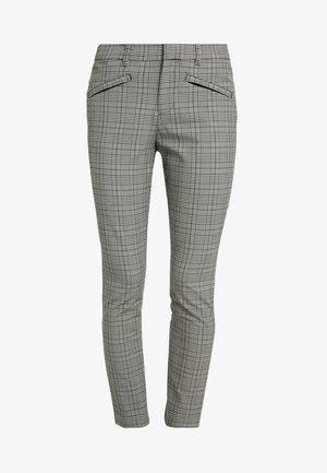SKINNY ANKLE TECHY - Spodnie materiałowe - glen plaid