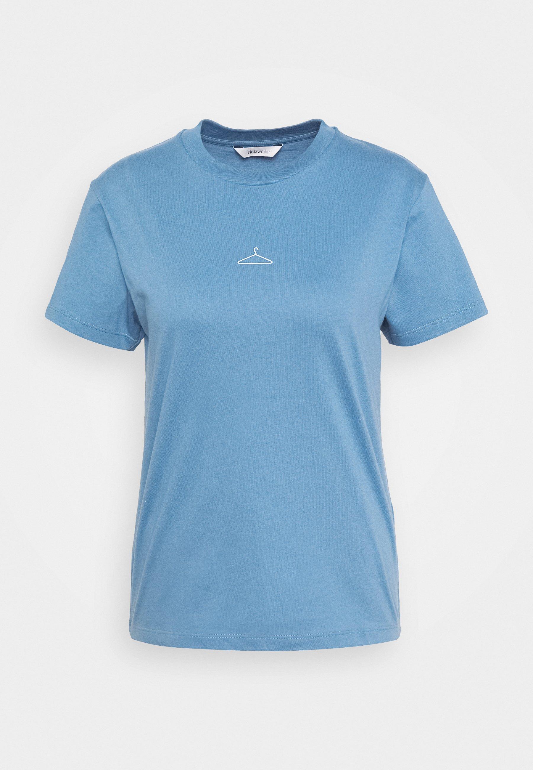 Holzweiler Suzana Tee - T-shirts Blue/lyseblå