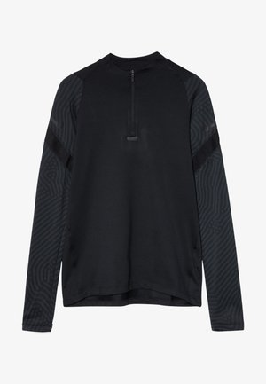 DRY STRIKE - Sportshirt - black/black/anthracite/black