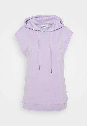 NMNERO HOODIE - T-shirts med print - pastel lilac