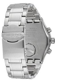 Swatch - NIGHT FLIGHT - Chronograph watch - silver-coloured - 2