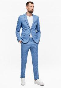 s.Oliver BLACK LABEL - Suit trousers - blue - 1