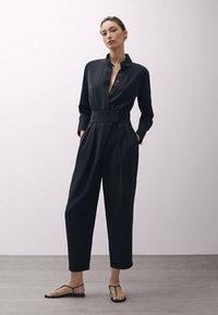 Massimo Dutti - Overall / Jumpsuit - black - 1