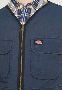 Dickies - GLYNDON VEST - Waistcoat - navy blue - 5