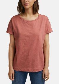 Esprit - Basic T-shirt - blush - 3