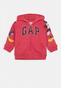 GAP - TODDLER BOY MICKEY - veste en sweat zippée - desert flower - 0
