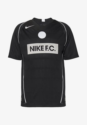 FC HOME - Print T-shirt - black/white