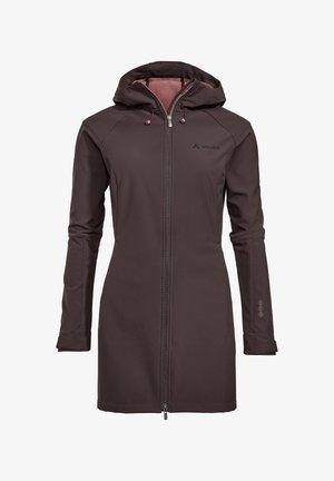SKOMER  - Soft shell jacket - pecan brown