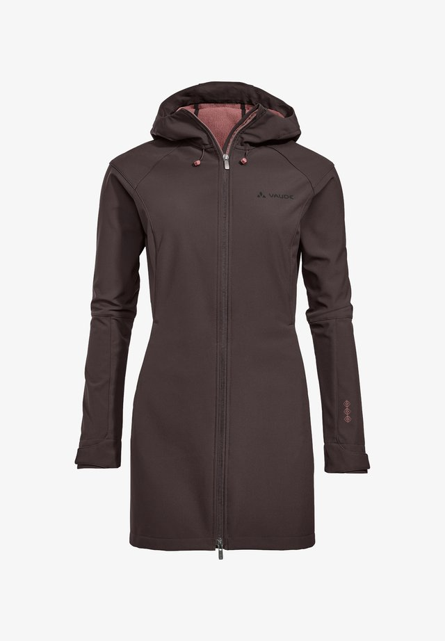 SKOMER  - Soft shell jacket - pecan brown