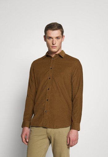 SLHREGHENLEY CAMP - Overhemd - breen