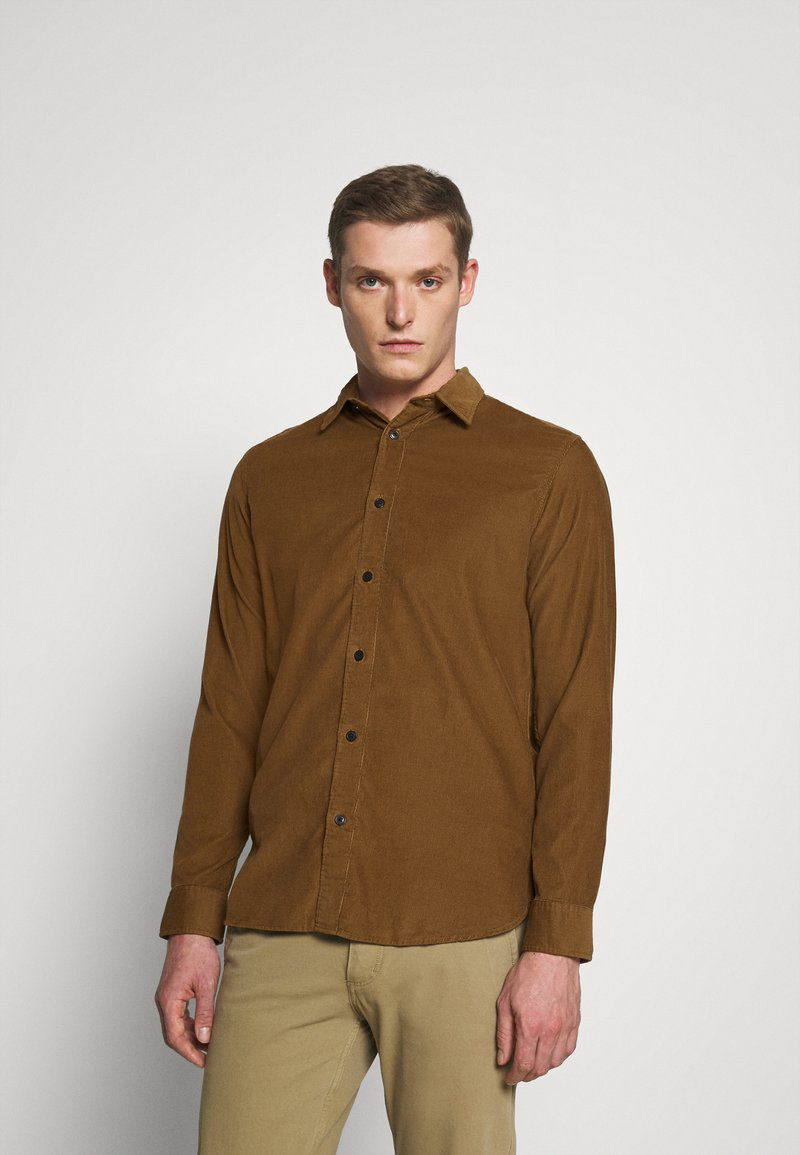 Selected Homme - SLHREGHENLEY CAMP - Shirt - breen