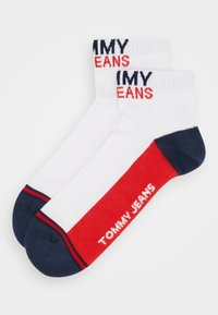 Tommy Jeans - UNISEX QUARTER 2 PACK - Socks - white - 0
