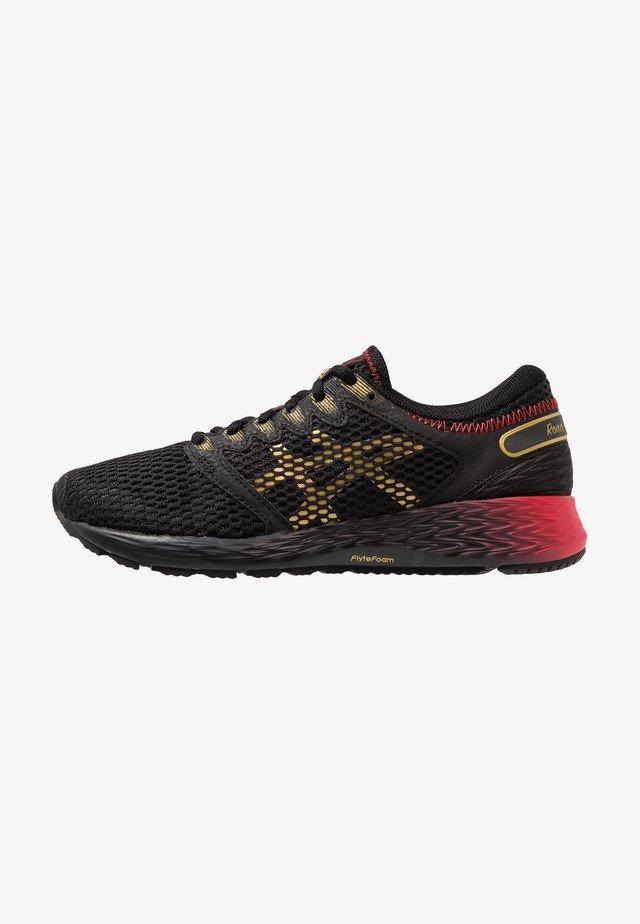 ROADHAWK FF 2 - Neutrální běžecké boty - black/rich gold