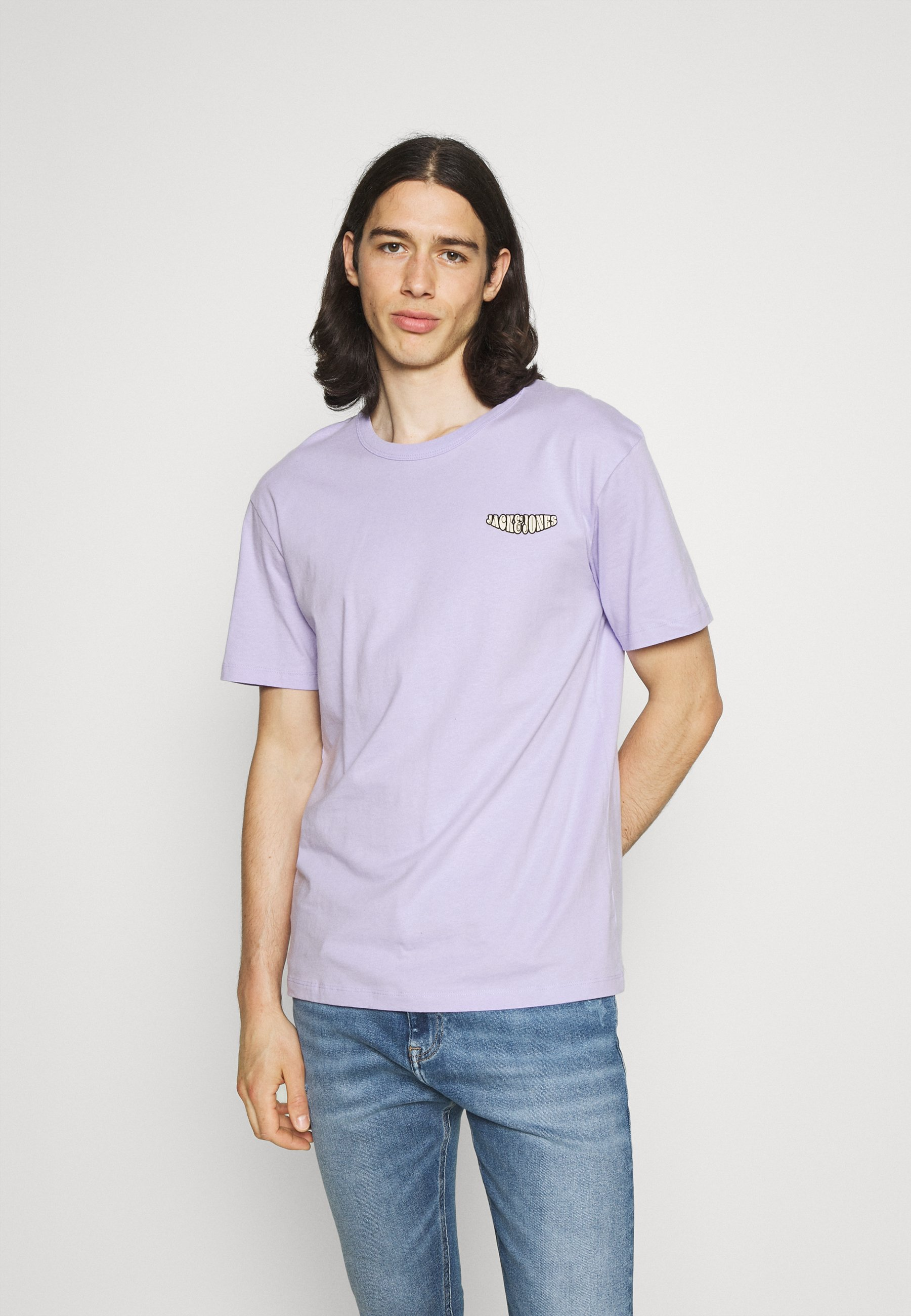 Homme JORZODIAC TEE CREW NECK - T-shirt imprimé