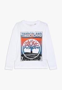 Timberland - Long sleeved top - weiss - 0