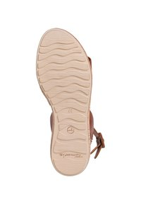 Tamaris - Platform sandals - nut leather - 3