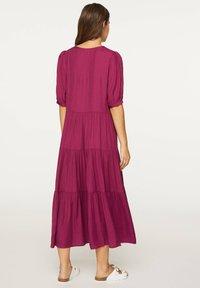 OYSHO - Day dress - dark purple - 1