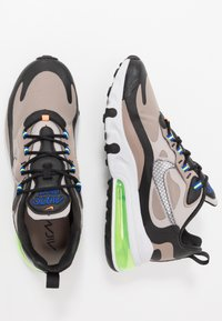 Nike Sportswear - AIR MAX 270 REACT WTR - Sneaker low - sepia stone/black/moon particle/vast grey/electric green/total orange - 1