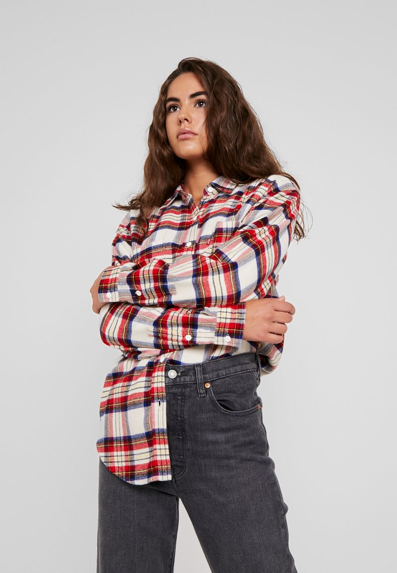 Levi's® - THE UTILITY - Button-down blouse - sandshell