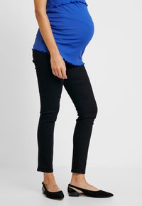 Dorothy Perkins Maternity - OVERBUMP ELLIS - Jeans Skinny Fit - black - 0