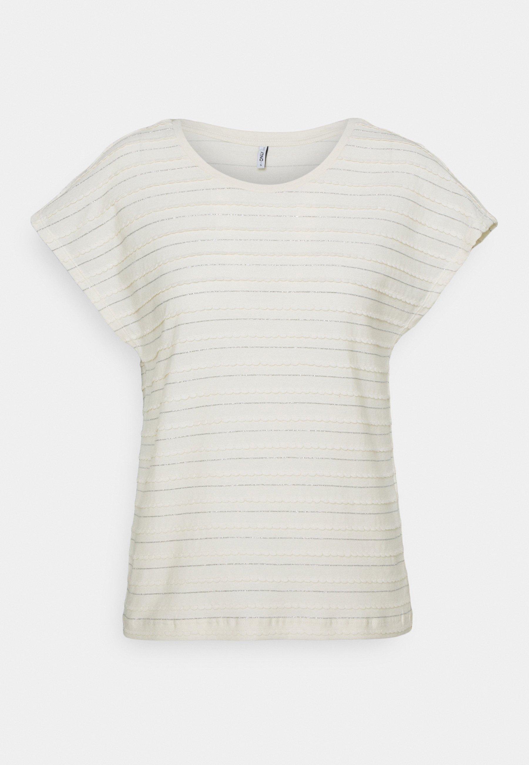 Donna ONLMILLIE LIFE GLITTER - T-shirt con stampa