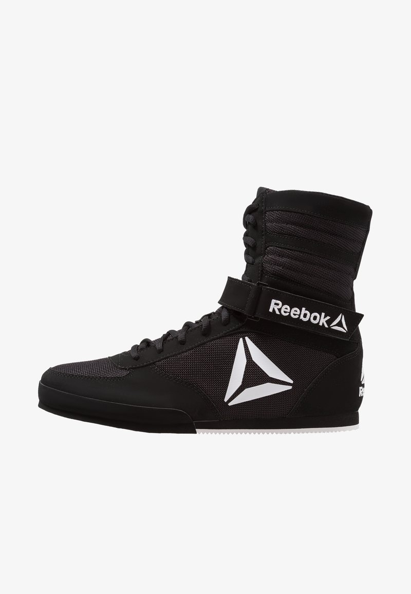 Reebok - BOXING BOOT BUCK - Sports shoes - black/white