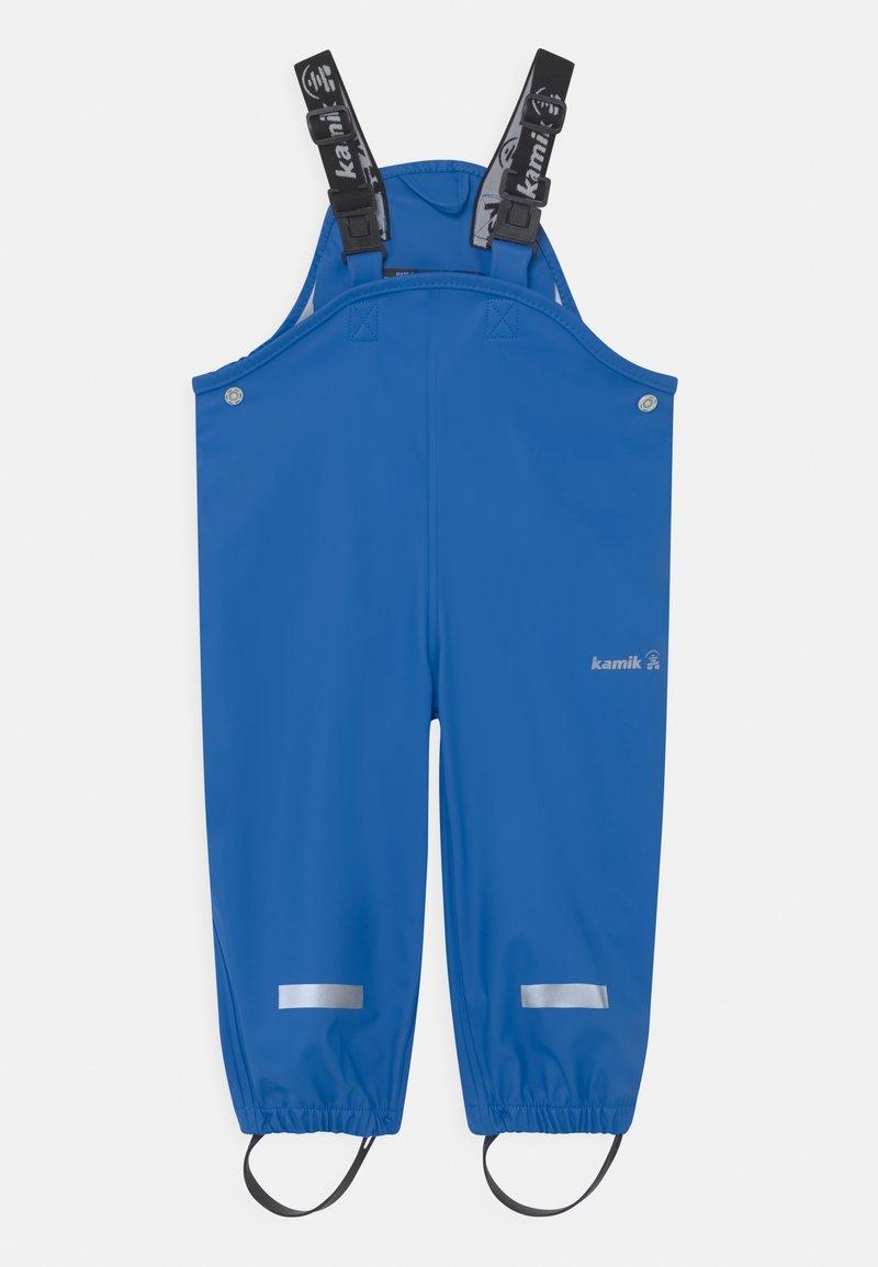 Kamik - MUDDY UNISEX - Rain trousers - mittelblau