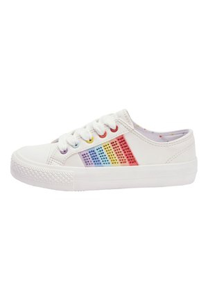 WHITE LACE-UP TRAINERS (OLDER) - Trainers - white