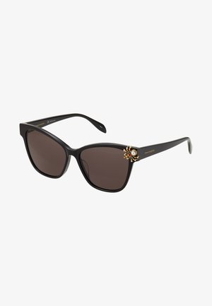 SUNGLASS WOMAN  - Sunglasses - black/black/grey