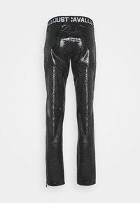 Just Cavalli - PANTALONE - Trousers - black - 1