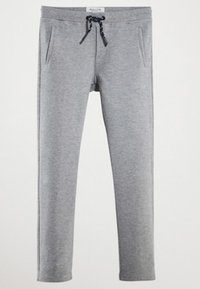 Massimo Dutti - MIT KORDELZUG - Tracksuit bottoms - dark grey - 3