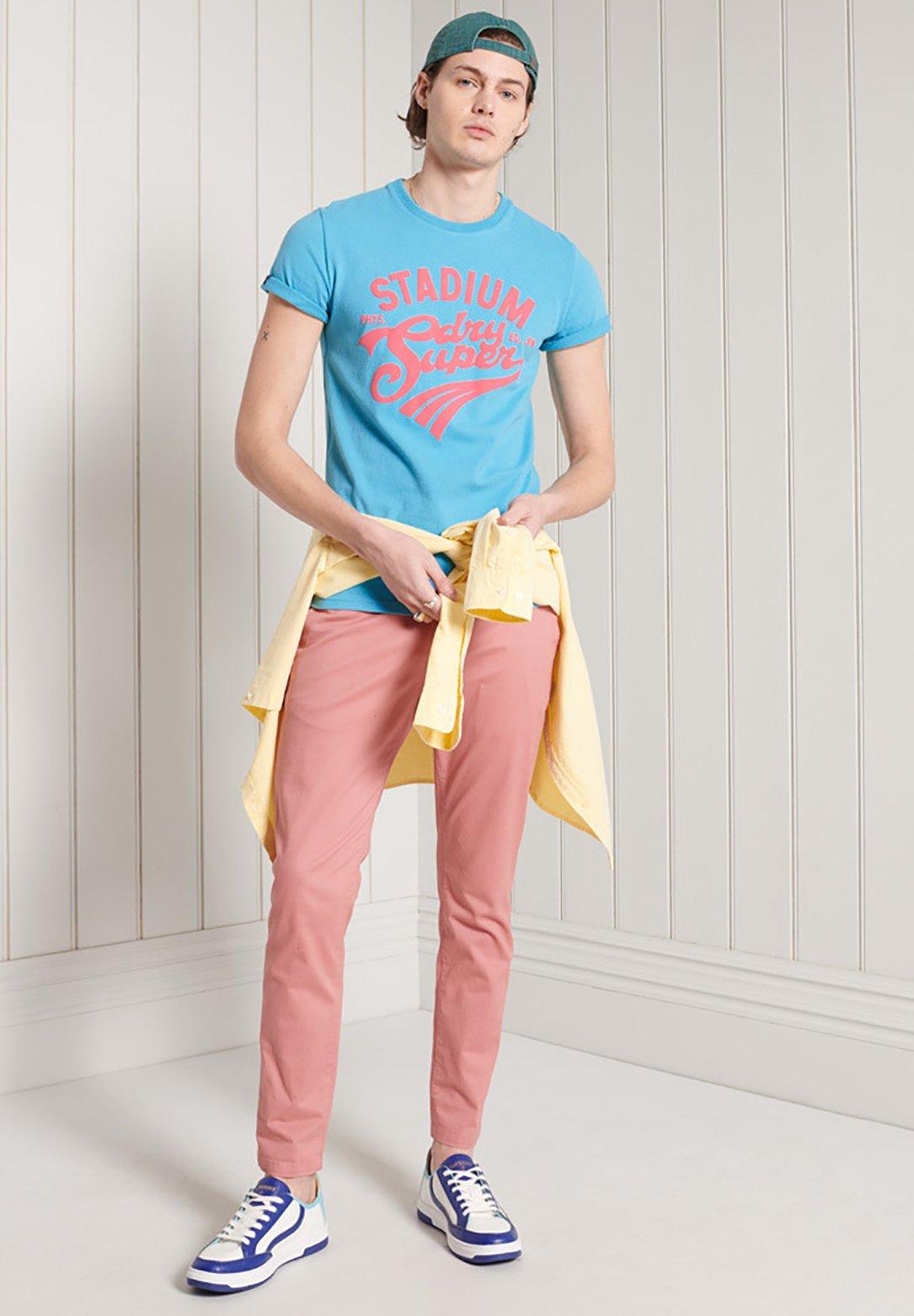 Men COLLEGIATE GRAPHIC STANDARD WEIGHT  - Print T-shirt
