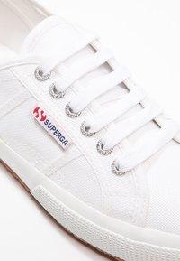Superga - 2750 COTU CLASSIC UNISEX - Trainers - white - 6