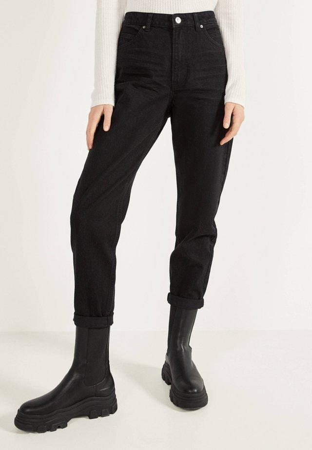 MOM - Straight leg jeans - black