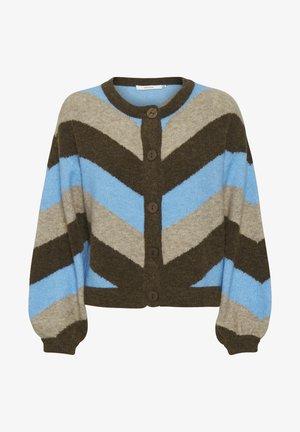 Cardigan - little boy blue stripe