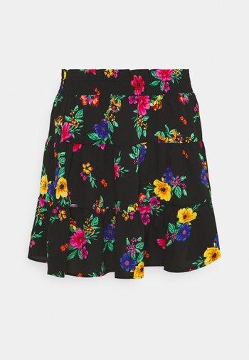FLIPPY SKIRT - Minifalda - tropical print