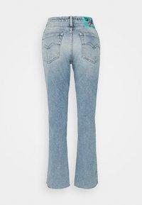 Replay - ROSE COLLECTION JULYE PANTS - Straight leg jeans - light blue - 1