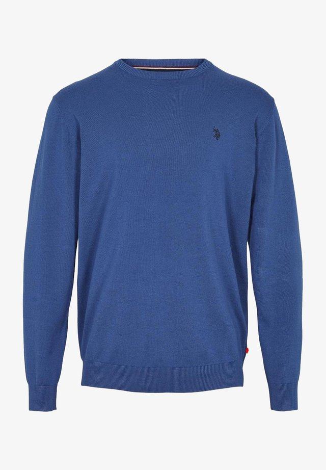 ADAIR - Strikkegenser - monaco blue