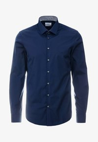 Calvin Klein Tailored - CONTRAST EASY IRON SLIM FIT SHIRT - Koszula biznesowa - blue - 4