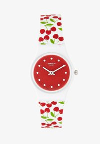 Swatch - CERISE MOI - Hodinky - white/red - 1