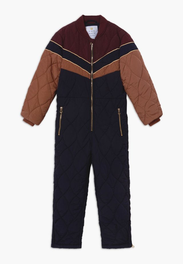 RAVIA THERMO - Snowsuit - navy blazer