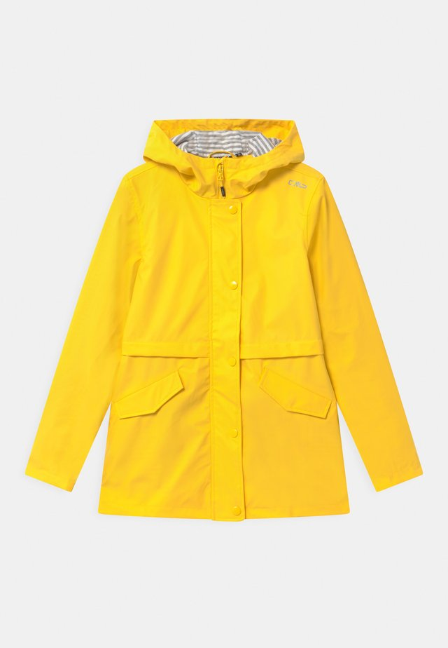 RAIN FIX HOOD UNISEX - Impermeabile - yellow