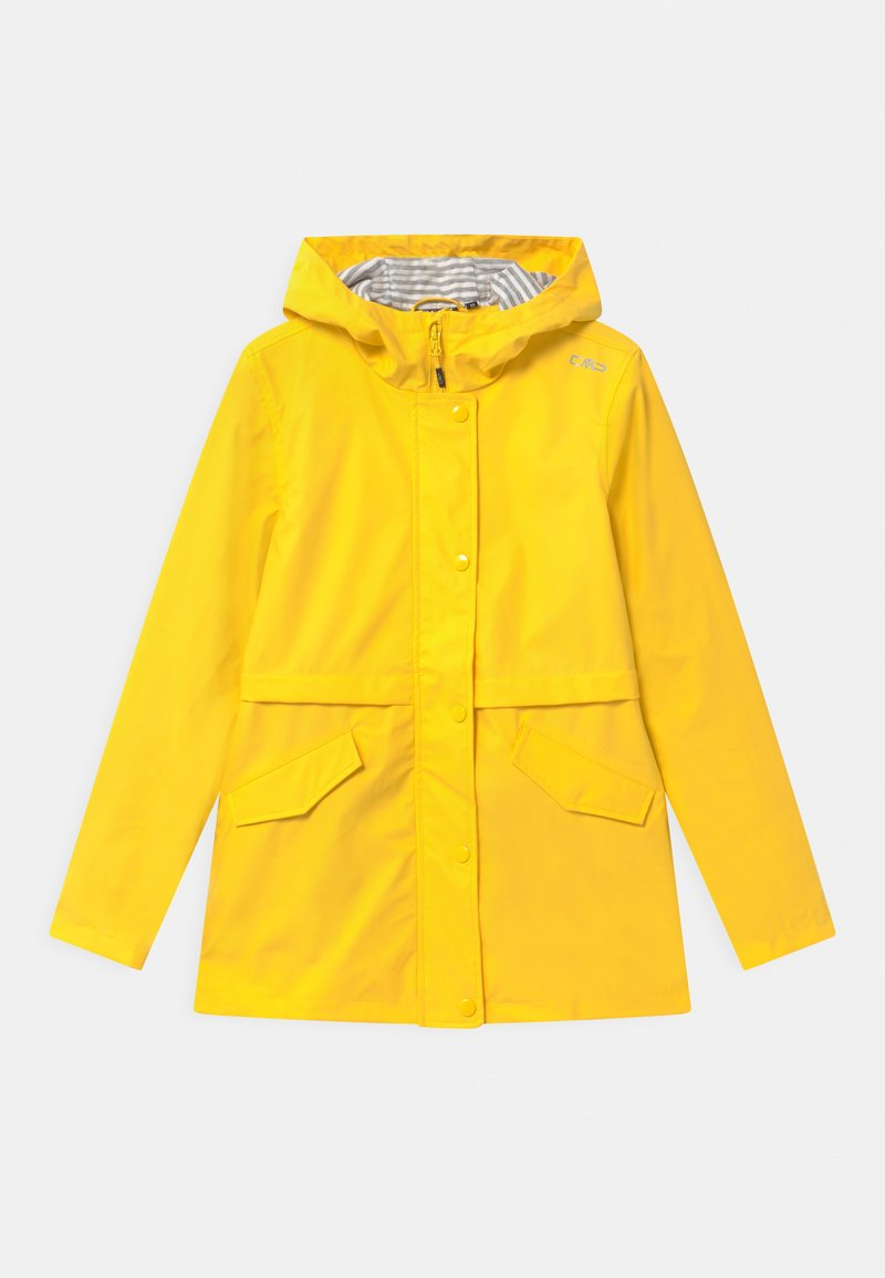CMP - RAIN FIX HOOD UNISEX - Waterproof jacket - yellow