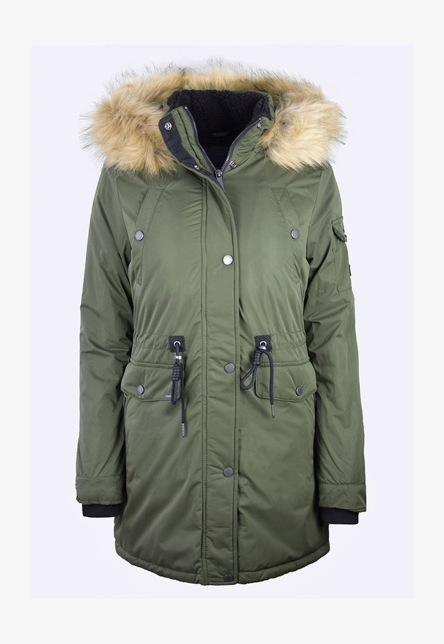 NADARE - Winter coat - dark moss