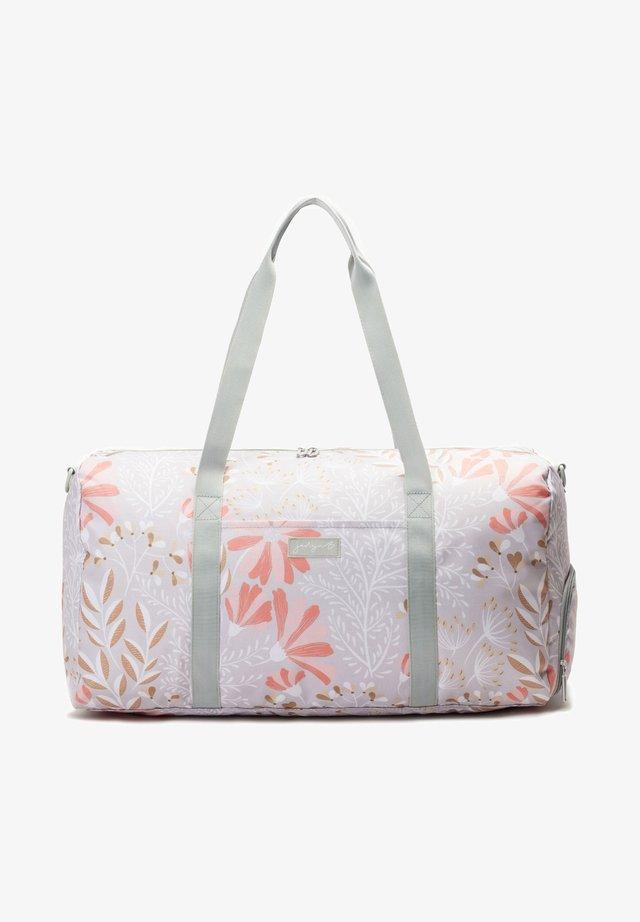 JADYN  - Weekendbag - gray floral