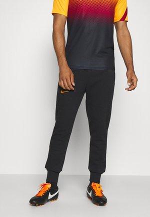 GALATASARAY ISTANBUL PANT - Club wear - black/vivid orange