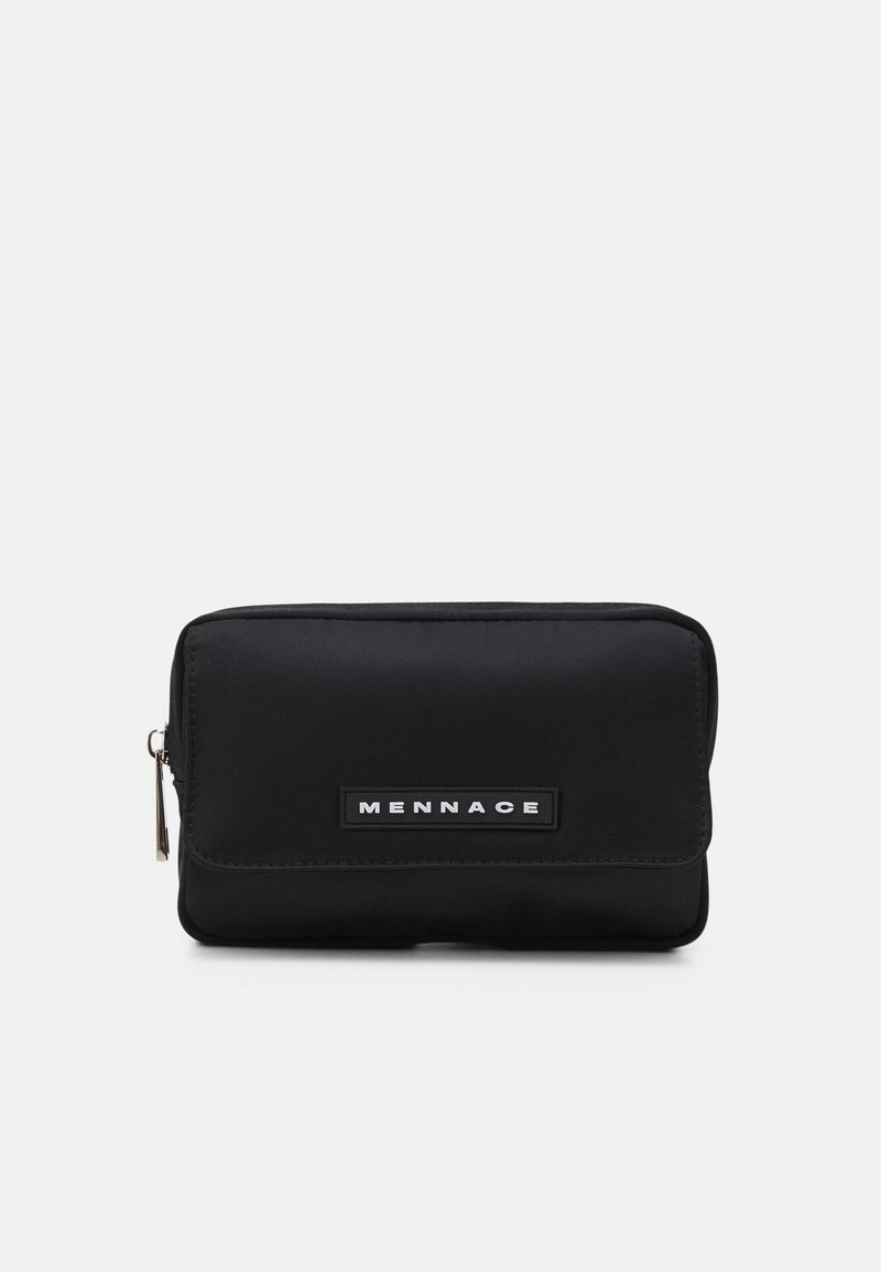 Mennace - ZIP BUM BAG UNISEX - Sac banane - black