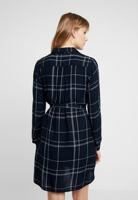 Great Plains London - AGNES CHECK - Shirt dress - space navy combo - 2